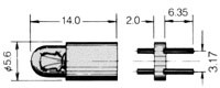 T-13/4 BPR Lamp 381