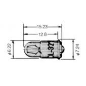 T-13/4midget flanged 6165